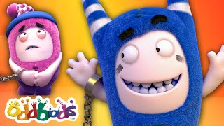Stuck With You Again | Oddbods FULL EPISODE | Funny Cartoon