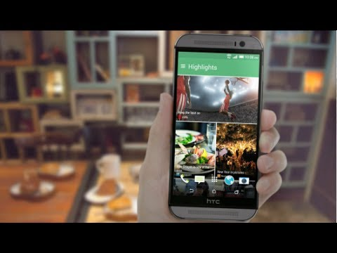 #htchelp HTC One (M8) - Stay updated on what matters to you with HTC BlinkFeed