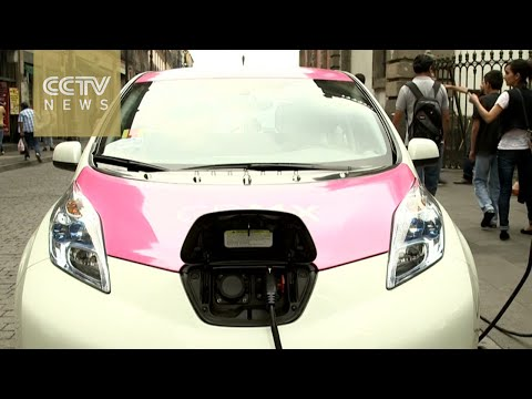 Mexico City fights pollution with hybrids and electric cars