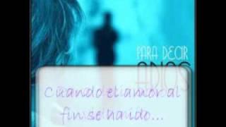 José Feliciano - Para decir adiós - Letra