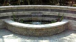 Aquatic Innovators, LLC, Janesville, WI - Formal Water Feature Fountain