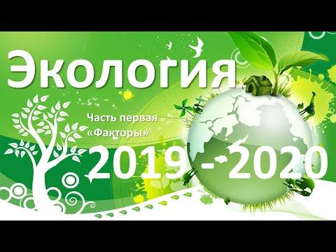 17. Экология часть I (9 или 10-11 класс) - биология, подготовка к ЕГЭ и ОГЭ 2020