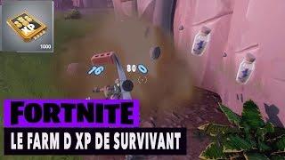 FORTNITE - SAUVER THE WORLD - THE FARM D XP OF SURVIVANTS!