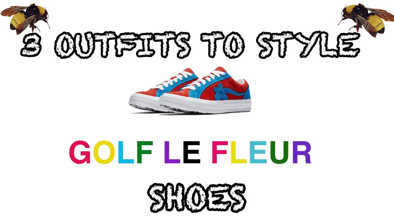 3 Outfits To Style Golf Le Fleurs Shoes Molten Lava Diva Blue Edition Youtube