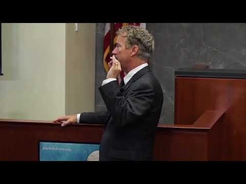 Rand Paul on Limited Government in Our Courts