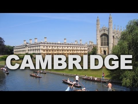 Cambridge, a Historic City with a World-Renowned University