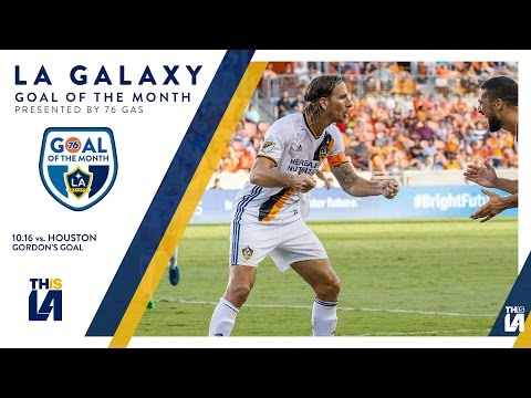 Alan Gordon scores game winning goal on his birthday | Goal of the Month - presented by 76 Gas