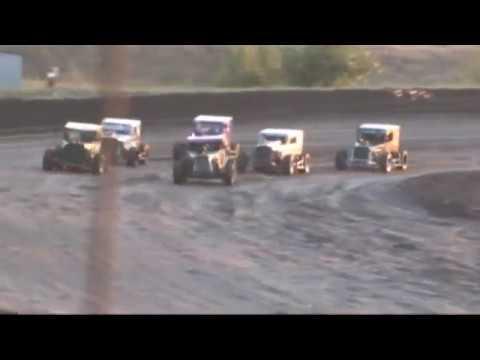 Southern Oregon Dwarf Cars (SODCA) at SO. Speedway 8/3/19 Heat 1