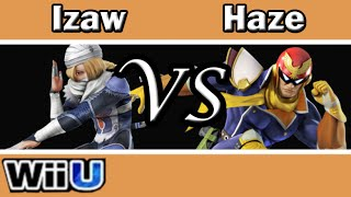 Smash 4 Izaw(Sheik) vs Haze(C.Falcon) Money Match