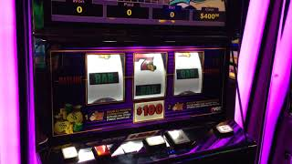 $100 MR. MONEY BAGS lot of spins finally a LIVE HANDPAY VGT Choctaw Casino Durant