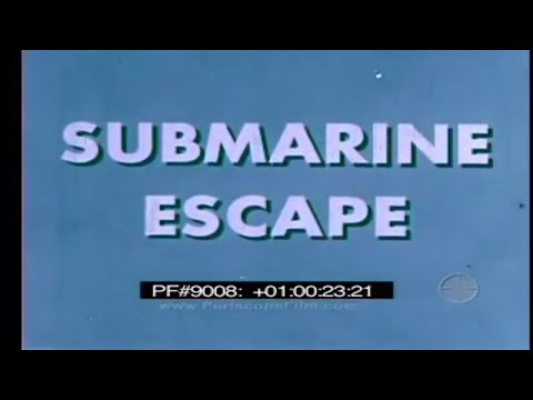 SUBMARINE ESCAPE - ESCAPE TRAINING TANK PROCEDURE 9008