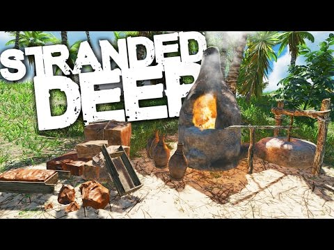 Stranded Deep | Survival Part 20 | BUILDING IN PARADISE!! (Experimental)