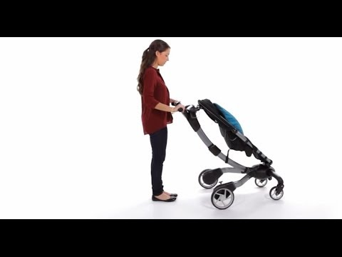 4moms Origami Stroller Manual Fold Youtube