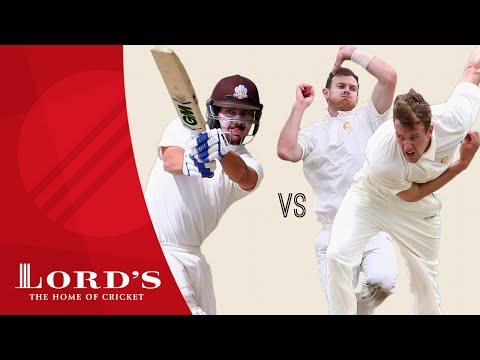Rory Burns vs James Harris & Jake Ball - 18 runs off 6 balls | Net Battles