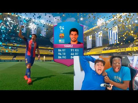CONSEGUIMOS A  LUIS SUAREZ !!! NUEVA CARTA - FIFA 17
