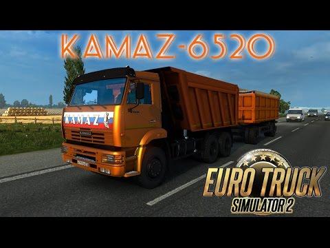 КамАЗ 53212 бортовой тягач для Euro Truck Simulator 2