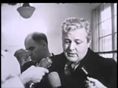 December 10, 1963 - San Francisco lawyer Melvin Belli takes over Jack Ruby case in Dallas, Texas
