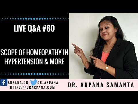 Scope Of Homeopathy In Hypertension, Gastric Complaints & More : Live Q&A #60