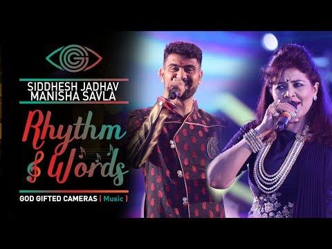 | Manisha savala & Siddhesh jadhav | | Rhythm & Words | | God Gifted Cameras |