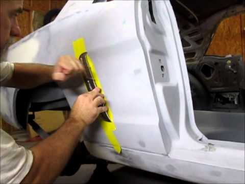 1965 Mustang Quarter Panel Trim Installation Youtube