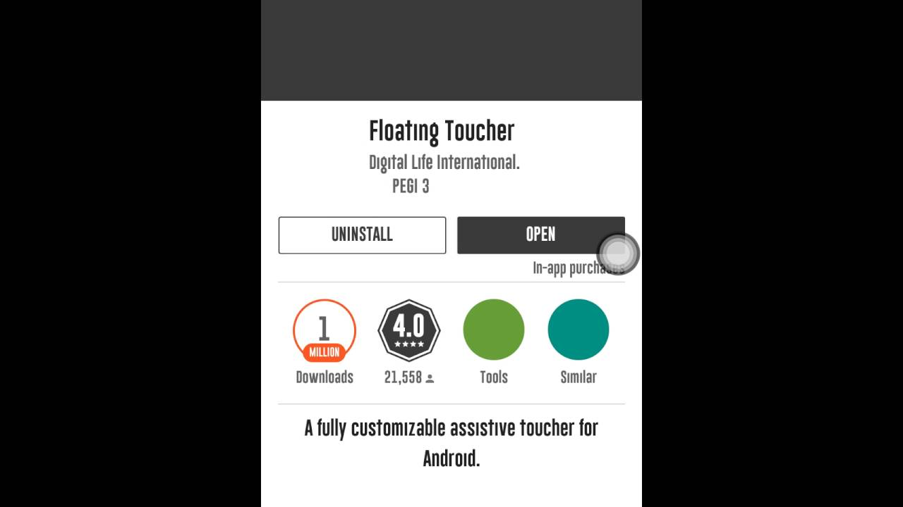 Floating Toucher (Android Tweak) Preview