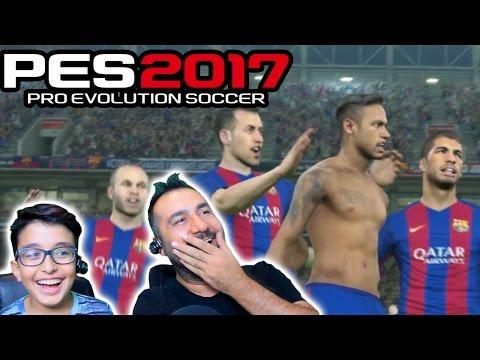 NEYMAR SOYUNDU! | PES 2017 PS4 DEMO