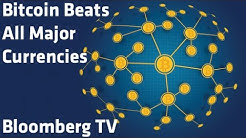 """Bitcoin Beats All Major Currencies"" - Bloomberg TV"