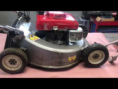 Fixing oil leak on a Honda mower