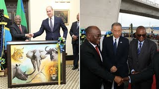 Rais Magufuli azindua Flyover za Mfugale, fahamu chanzo cha jina, akutana na Prince William