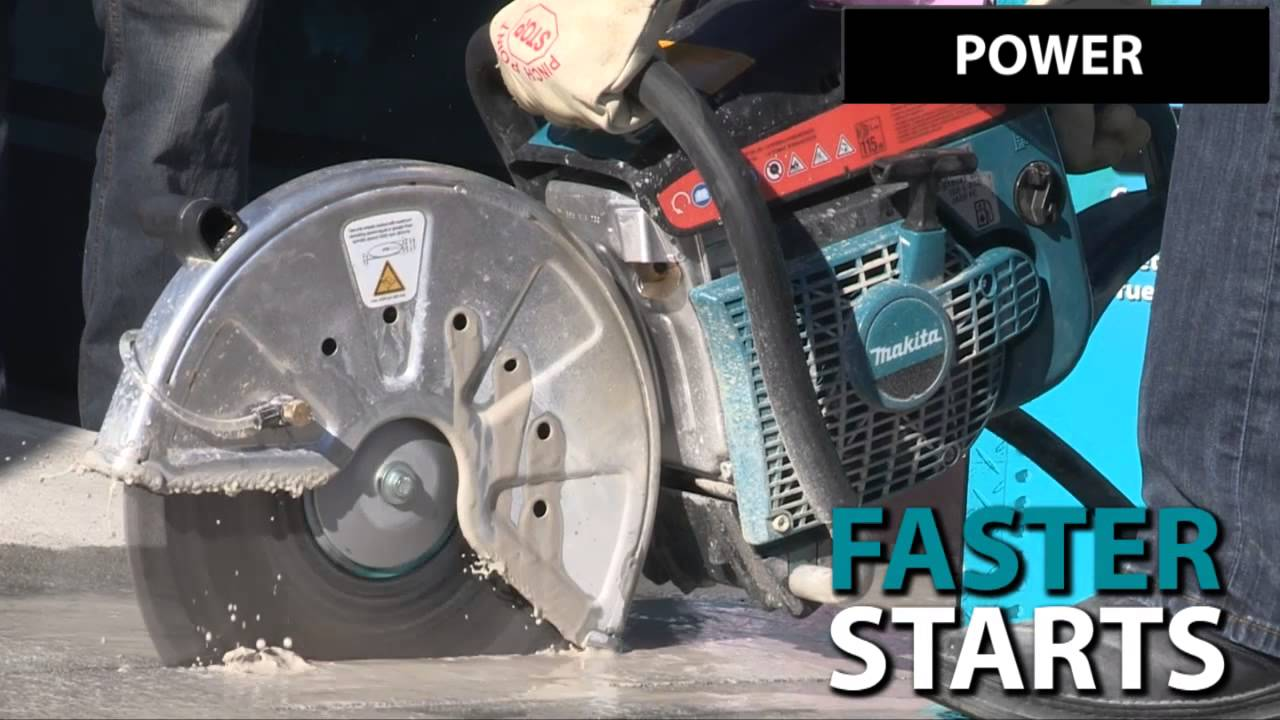 Makita 14 in. Power Cutter - EK7301 - YouTube on