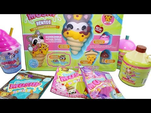 Smooshy Mushy Surprise Box Unboxing Toy Review Smooshy Mushy Pets, Besties, Bento Boxes & Frozen