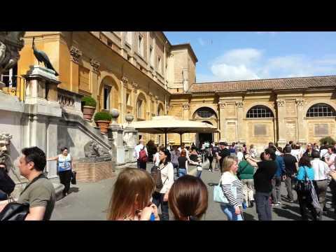 Vatican Gold Ball in Motion, mei 2013