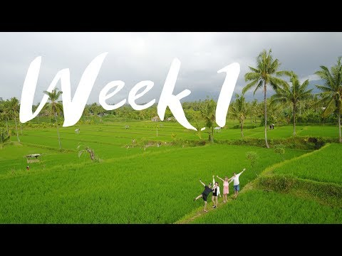 HOW TO GET FIT WHILE TRAVELING  - Week 1   Bali