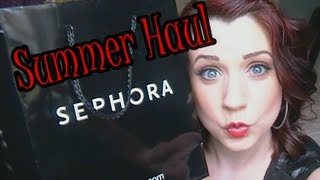 SUMMER HAUL 2013 -Sephora, Bath & Body Works, Clothes and Shoes!!! Thumbnail