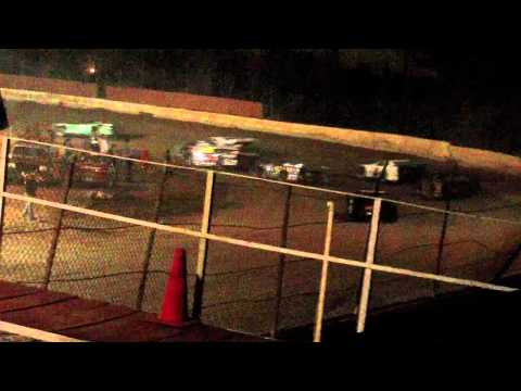 lake cumberland speedway 10 22 11 late model heat 4 part 1