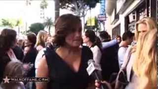 Mariska Hargitay Walk of Fame Ceremony