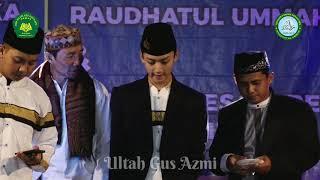 GUS AZMI ULANG TAHUN    Di SMP Islam Abu Ghonaim