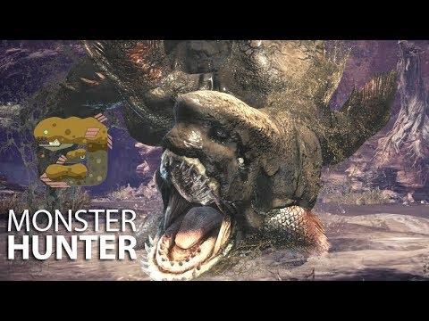 Monster Hunter World - O TUBARÃO DO PÂNTANO thumbnail