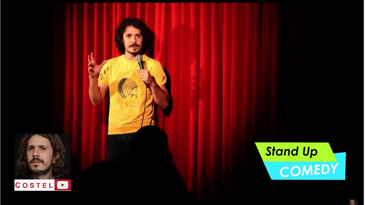 Sungard Exhibition Stand Up Comedy : Costel stand up comedy un show integral din club