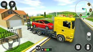 ड्राइव सिम्युलेटर 2020: टो ट्रक - कार ट्रांसपोर्टर गेम - एंड्रॉइड गेमप्ले screenshot 3