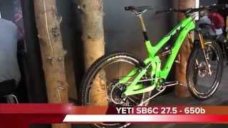 New YETI Bikes 2015 (SB6C, SB5C, 575, 303) - Eurobike 2014