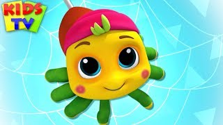 Incy Wincy Spider Nursery Rhyme | Boom Buddies Cartoons | Kids songs
