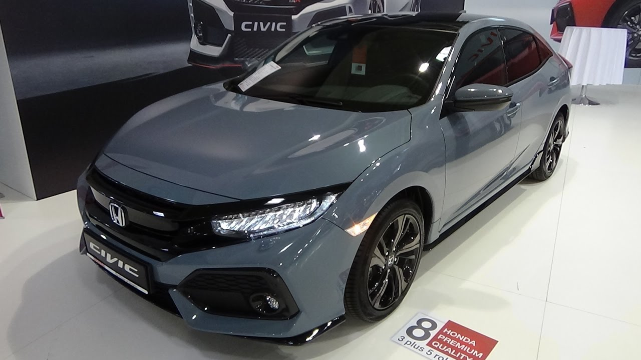 2017 Honda Civic 1.5 Turbo Sport Plus - exterior and Interior - Auto Salon Bratislava 2017