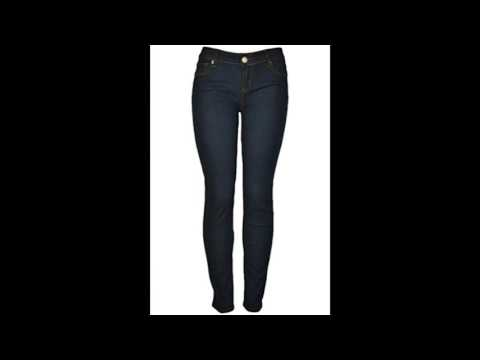Creabygirls womens sexy waist denim trousers slim curve skinny jeans