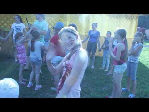 Народные игры в лагере Спутник