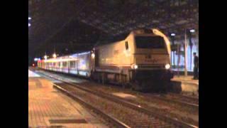 Trenes de todo tipo en  Medina del Campo 2012
