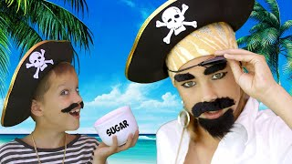 New Pirates Of The Caribbean with Johny Johny Yes Papa song| Nursery Rhymes for Kids and Baby