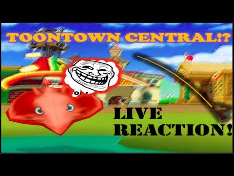 DEVIL RAY CAUGHT IN TOONTOWN CENTRAL!?!? LIVE REACTION!