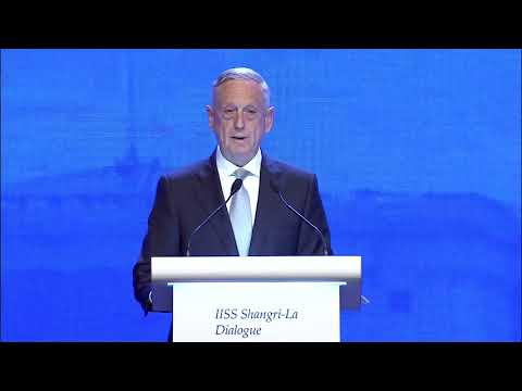 James Mattis: US leadership and the challenges of Asia-Pacific security