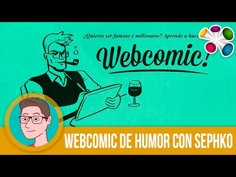 Sesión 1/4: Webcomic de humor con Sephko.